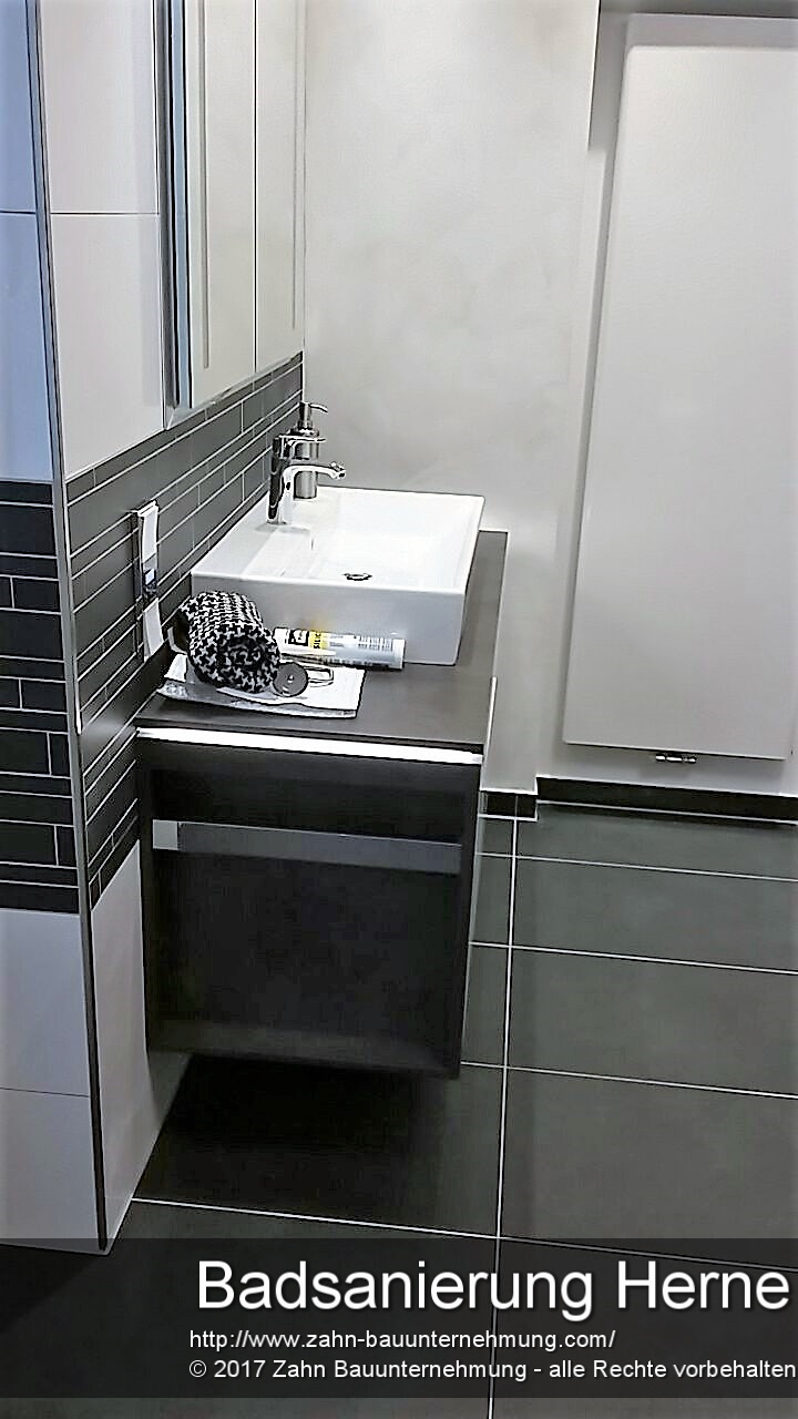 badsanierung herne 1 von 7 zahn bauunternehmung. Black Bedroom Furniture Sets. Home Design Ideas